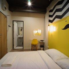 BRB Hostel Bangkok Silom Стандартный номер с различными типами кроватей фото 10