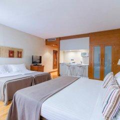 Отель Aparthotel Mariano Cubi Barcelona 4* Апартаменты с различными типами кроватей