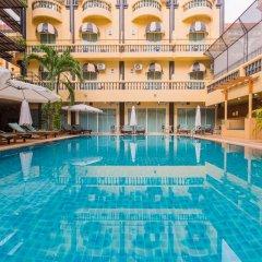 Отель Zing Resort & Spa Таиланд, Паттайя - 11 отзывов об отеле, цены и фото номеров - забронировать отель Zing Resort & Spa онлайн бассейн фото 3