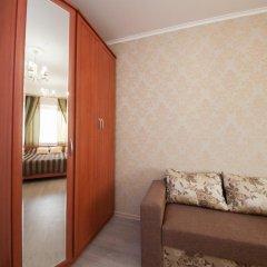 Мини-Отель КвартировЪ-Взлетка Стандартный номер с двуспальной кроватью (общая ванная комната) фото 2