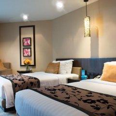 Отель A-One Pattaya Beach Resort 4* Номер Делюкс с различными типами кроватей фото 16