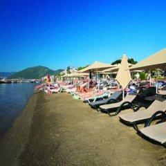 Отель Club Nergis Beach Мармарис приотельная территория