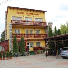 Отель Abigél Vendégház Венгрия, Силвашварад - отзывы, цены и фото номеров - забронировать отель Abigél Vendégház онлайн парковка