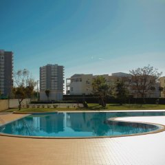 Отель Dunas do Alvor Португалия, Портимао - отзывы, цены и фото номеров - забронировать отель Dunas do Alvor онлайн бассейн фото 2