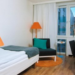 Hotel Birger Jarl 4* Стандартный номер с двуспальной кроватью фото 20