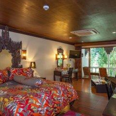Отель Tropica Bungalow Resort 3* Семейный номер Делюкс с двуспальной кроватью фото 5