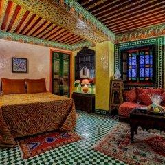 Отель Palais De Fès Dar Tazi Марокко, Фес - отзывы, цены и фото номеров - забронировать отель Palais De Fès Dar Tazi онлайн комната для гостей фото 4