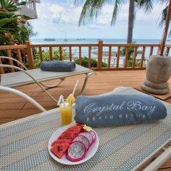 Отель Crystal Bay Beach Resort 3* Номер Делюкс с различными типами кроватей фото 4