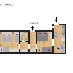 Отель Flatinrome - Termini спортивное сооружение