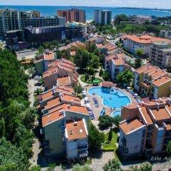 Апартаменты Elite Apartments Солнечный берег балкон