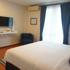 Отель Ratchadamnoen Residence 3* Стандартный номер с двуспальной кроватью фото 27