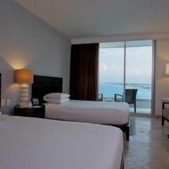 Отель Reflect Krystal Grand Cancun Улучшенный номер с различными типами кроватей фото 8