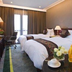 Medallion Hanoi Hotel 4* Стандартный семейный номер разные типы кроватей