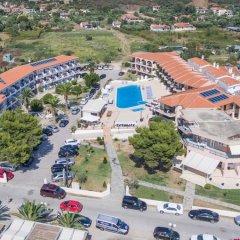 Toroni Blue Sea Hotel парковка