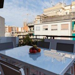 Апартаменты Centric Lodge Apartments Барселона балкон