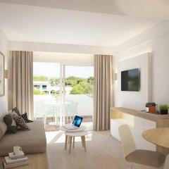 Отель Apartamentos Cala d'Or Playa Улучшенные апартаменты с различными типами кроватей фото 4