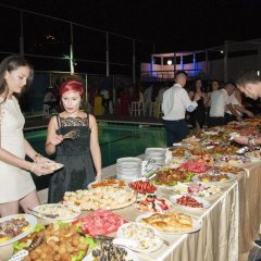Отель Merlin Park Resort Тирана питание фото 2