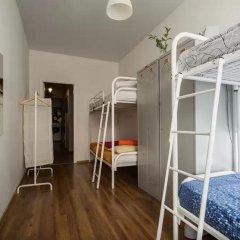 Хостел Online Кровать в общем номере с двухъярусной кроватью фото 10