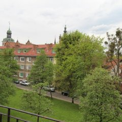 Апартаменты Gdańsk Old Town Apartments балкон