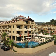 Aegean Princess Apartments And Studio Турция, Мармарис - 1 отзыв об отеле, цены и фото номеров - забронировать отель Aegean Princess Apartments And Studio онлайн балкон