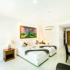 Курортный отель Lamai Coconut Beach 3* Улучшенный номер с различными типами кроватей фото 13