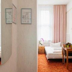 Hotel Bellevue am Kurfürstendamm 3* Стандартный номер с разными типами кроватей