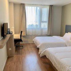 Отель Hanting Hotel Beijing Water Cube Китай, Пекин - отзывы, цены и фото номеров - забронировать отель Hanting Hotel Beijing Water Cube онлайн удобства в номере фото 2