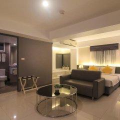 Отель Myhotel Cmyk@Ratchada 3* Полулюкс с различными типами кроватей фото 10