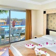 Aperion Beach Hotel Сиде комната для гостей фото 4