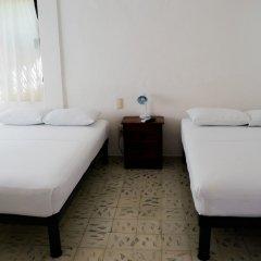 Отель Hostal Haina Мексика, Канкун - отзывы, цены и фото номеров - забронировать отель Hostal Haina онлайн комната для гостей фото 3