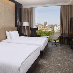 Отель Hilton Tallinn Park 4* Стандартный номер с двуспальной кроватью фото 4