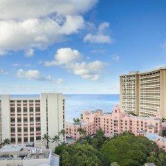 Отель Waikiki Beachcomber by Outrigger 3* Стандартный номер с различными типами кроватей фото 6