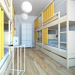 Лайк Хостел Санкт-Петербург на Театральной Кровать в общем номере с двухъярусной кроватью фото 13