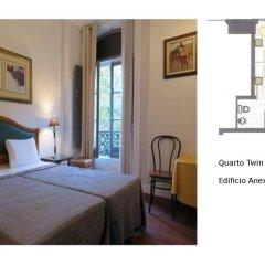 Отель A Ponte - Saldanha 2* Стандартный номер с двуспальной кроватью фото 4