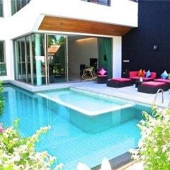 Отель Eva Villa Rawai 3 bedrooms Private Pool бассейн