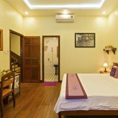 Отель Qua Cam Tim Homestay Номер Делюкс с различными типами кроватей