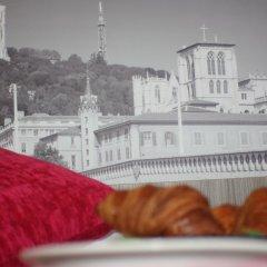 Отель Best Western Saphir Lyon балкон