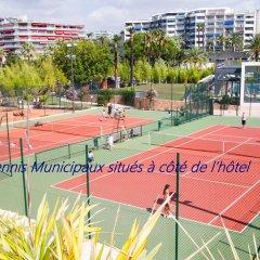 Отель Novotel Cannes Montfleury Франция, Канны - отзывы, цены и фото номеров - забронировать отель Novotel Cannes Montfleury онлайн спортивное сооружение