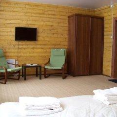 Мини-Отель Лесной Вегарус комната для гостей