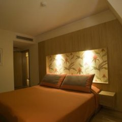 Отель Apartamentos Turisticos Atlantida Улучшенные апартаменты разные типы кроватей фото 13