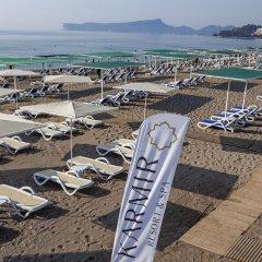 Отель Karmir Resort & Spa пляж