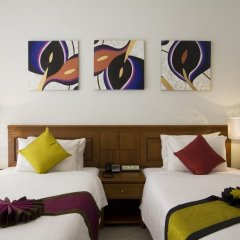 Отель Sunset Beach Resort 4* Улучшенный номер с двуспальной кроватью фото 4