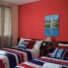 Отель Mansion Giahn Bed & Breakfast Мексика, Канкун - отзывы, цены и фото номеров - забронировать отель Mansion Giahn Bed & Breakfast онлайн комната для гостей фото 17