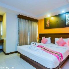 Green Harbor Patong Hotel 2* Стандартный номер двуспальная кровать фото 16