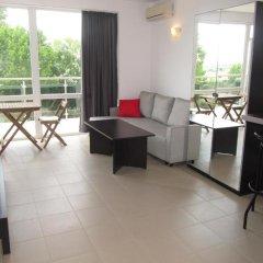 Отель Aparthotel Cote D'Azure 3* Студия Эконом с различными типами кроватей фото 10
