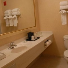 Отель Country Inn & Suites by Radisson, Newark Airport, NJ США, Элизабет - отзывы, цены и фото номеров - забронировать отель Country Inn & Suites by Radisson, Newark Airport, NJ онлайн ванная