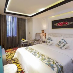 A&Em Corner Sai Gon Hotel 4* Номер Делюкс с различными типами кроватей фото 2