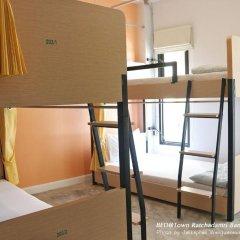 Bed@town Hostel Бангкок комната для гостей фото 5