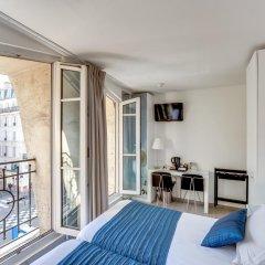 Отель Brady Gare De L'Est Париж балкон