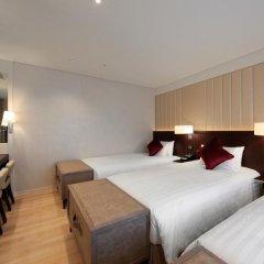 Solaria Nishitetsu Hotel Seoul Myeongdong 3* Стандартный номер с различными типами кроватей фото 6